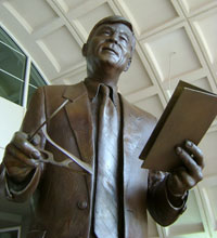 Statue of Frank R. Day
